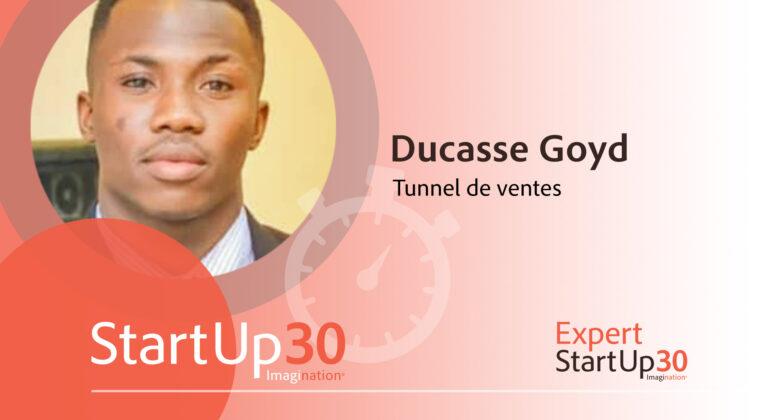 Ducasse Goyd - StartUp30