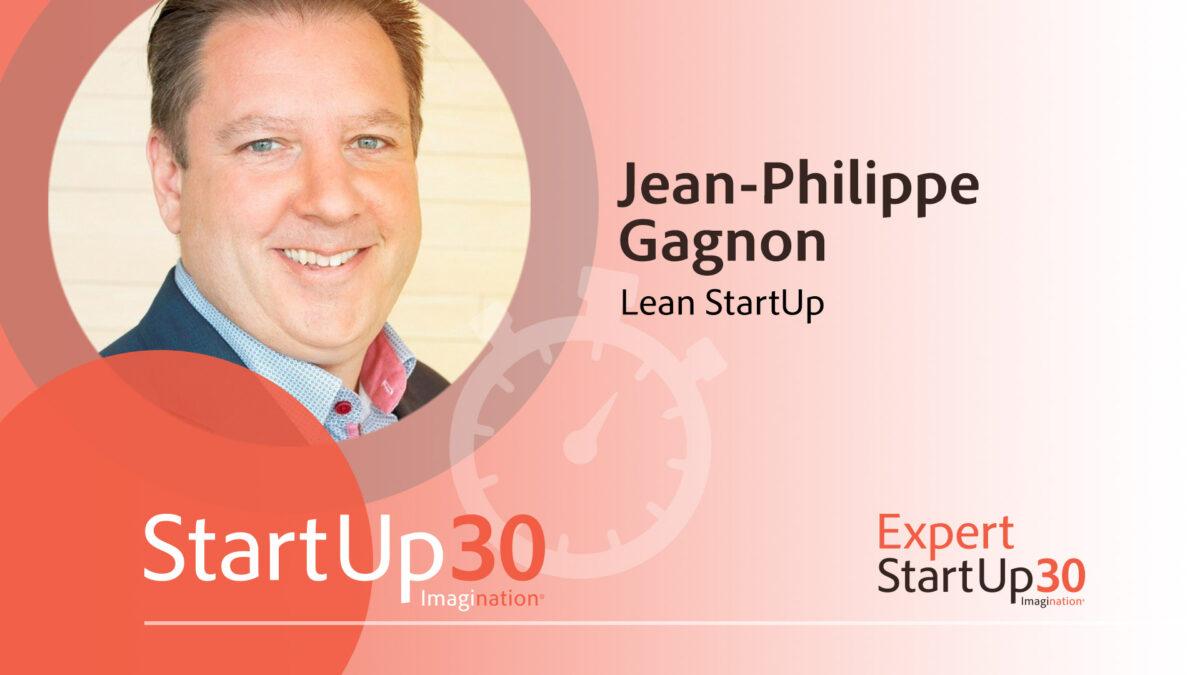Jean-Philippe Gagnon - StartUp30