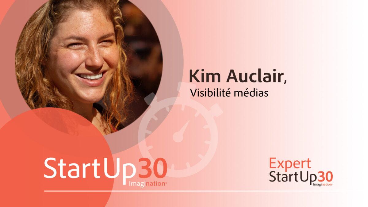 Kim Auclair - StartUp30