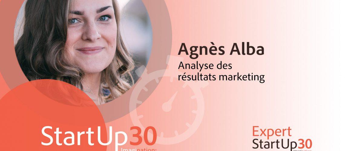 Agnès Alba - StartUp30