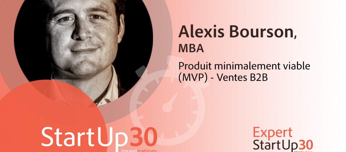 Alexis Bourson - StartUp30