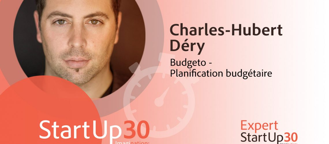 Charles-Hubert Dery - StartUp30