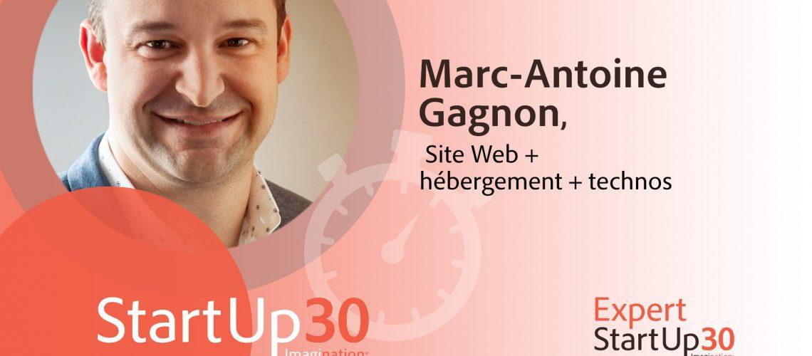 Marc-Antoine Gagnon - StartUp30