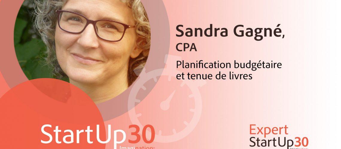 Sandra Gagné - StartUp30
